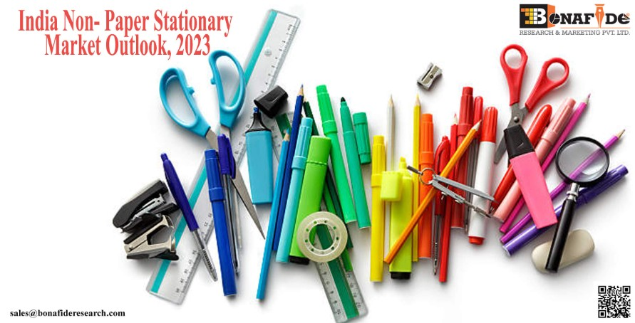 Non-Paper Stationary Market is expected to grow with a CAGR more than 8 percent from 2017-18 to 2022-23.: Bonafide Research